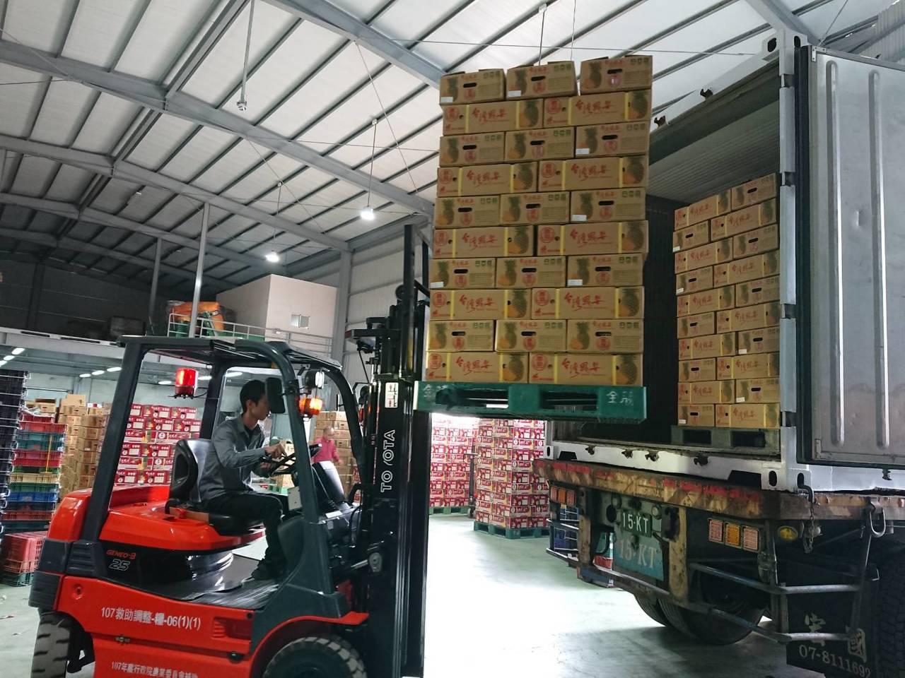高雄市農產品賣到海外,被林濁水酸賣得太少了。圖/本報資料照片