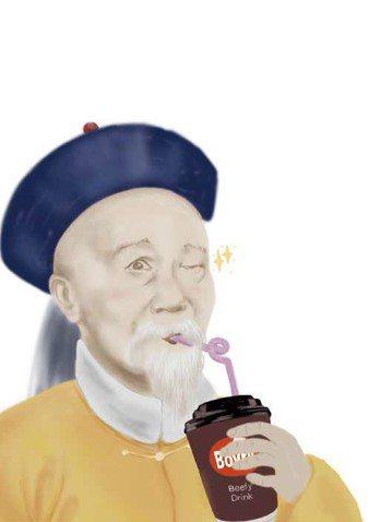 李鴻章 圖/摘自《皇上吃什麼》