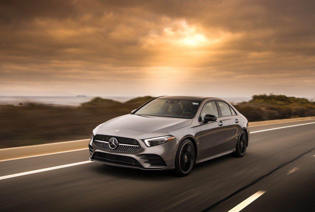 Mercedes-Benz A-Class Sedan美規售價出爐。 摘自Mer...