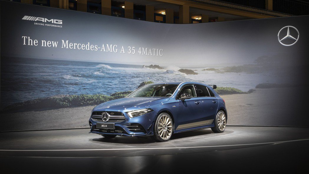新世代Mercedes-AMG A 35 4MATIC。 摘自Mercedes-...