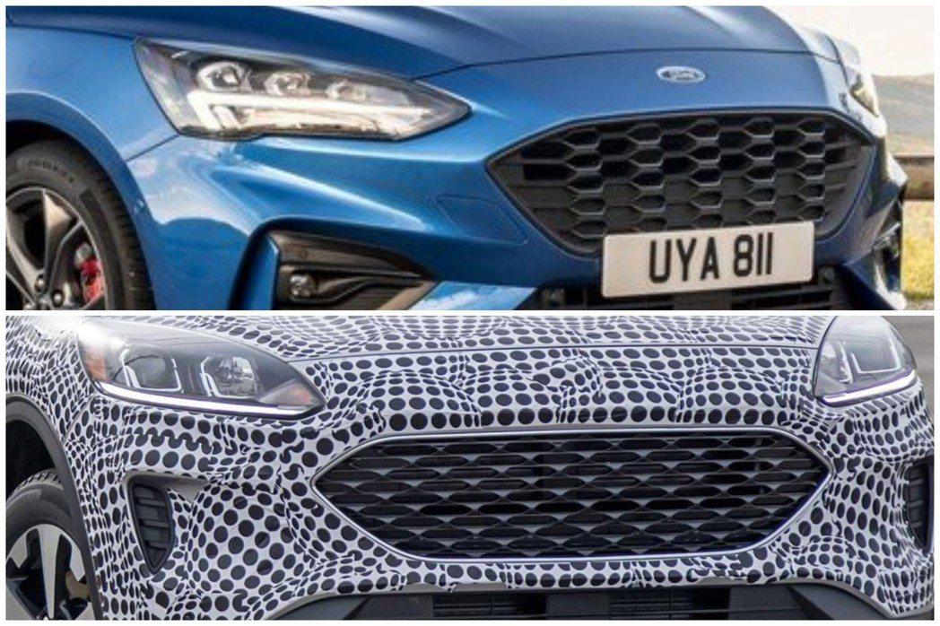 大改款美規Ford Kuga/Escape的水箱護罩與新世代Focus ST-L...