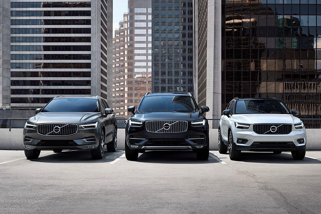 Volvo去年全球總銷量達64.2萬輛,當中休旅車陣容如XC90、XC60、XC...
