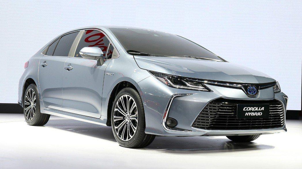 12代目Toyota Corolla Altis預計將於3月27日在台發表。 圖...