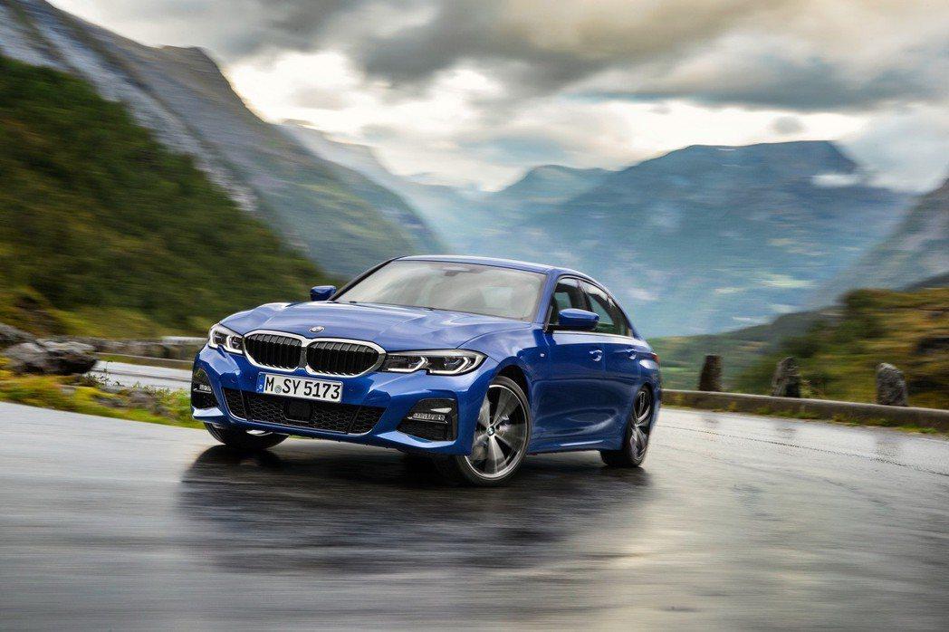 BMW旗下暢銷房車3系列將於今年上半年登場。 圖/BMW提供