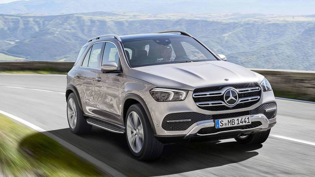 Mercedes-Benz GLE。 圖/Mercedes-Benz 提供