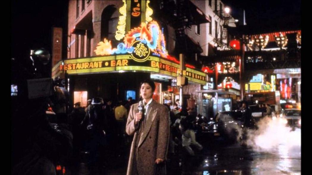 「龍年」女主角設定為一位華裔的電視記者。圖/摘自IMDB