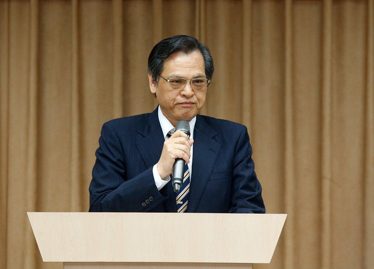 陸委會主委陳明通。 聯合報系資料照片