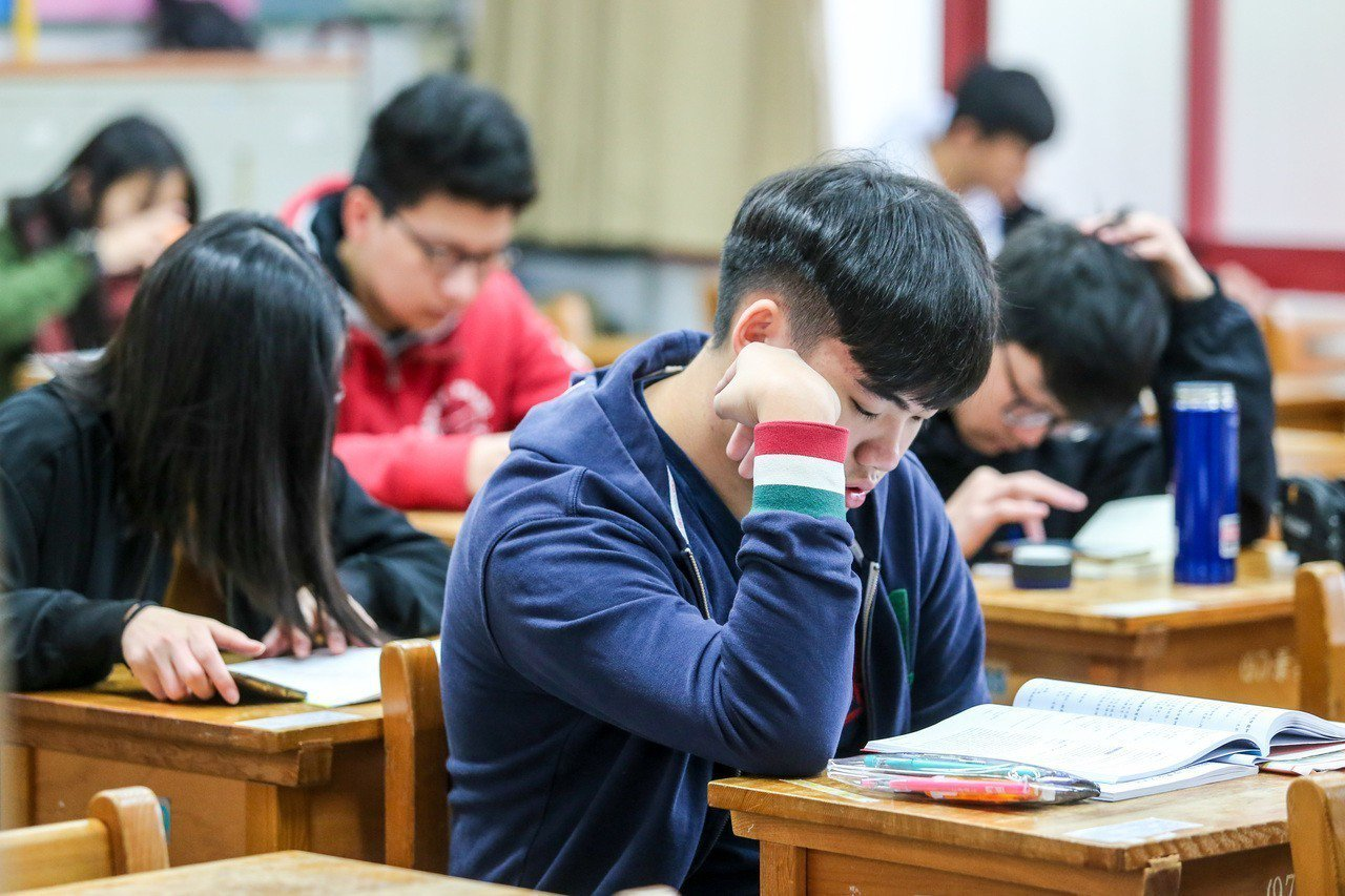 大學學測25、26日登場。聯合報系資料照/記者鄭清元攝影