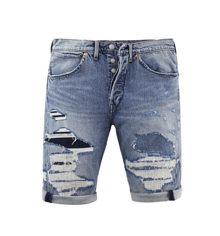 破壞水洗_502牛仔短褲,3490元。圖/LEVIS提供