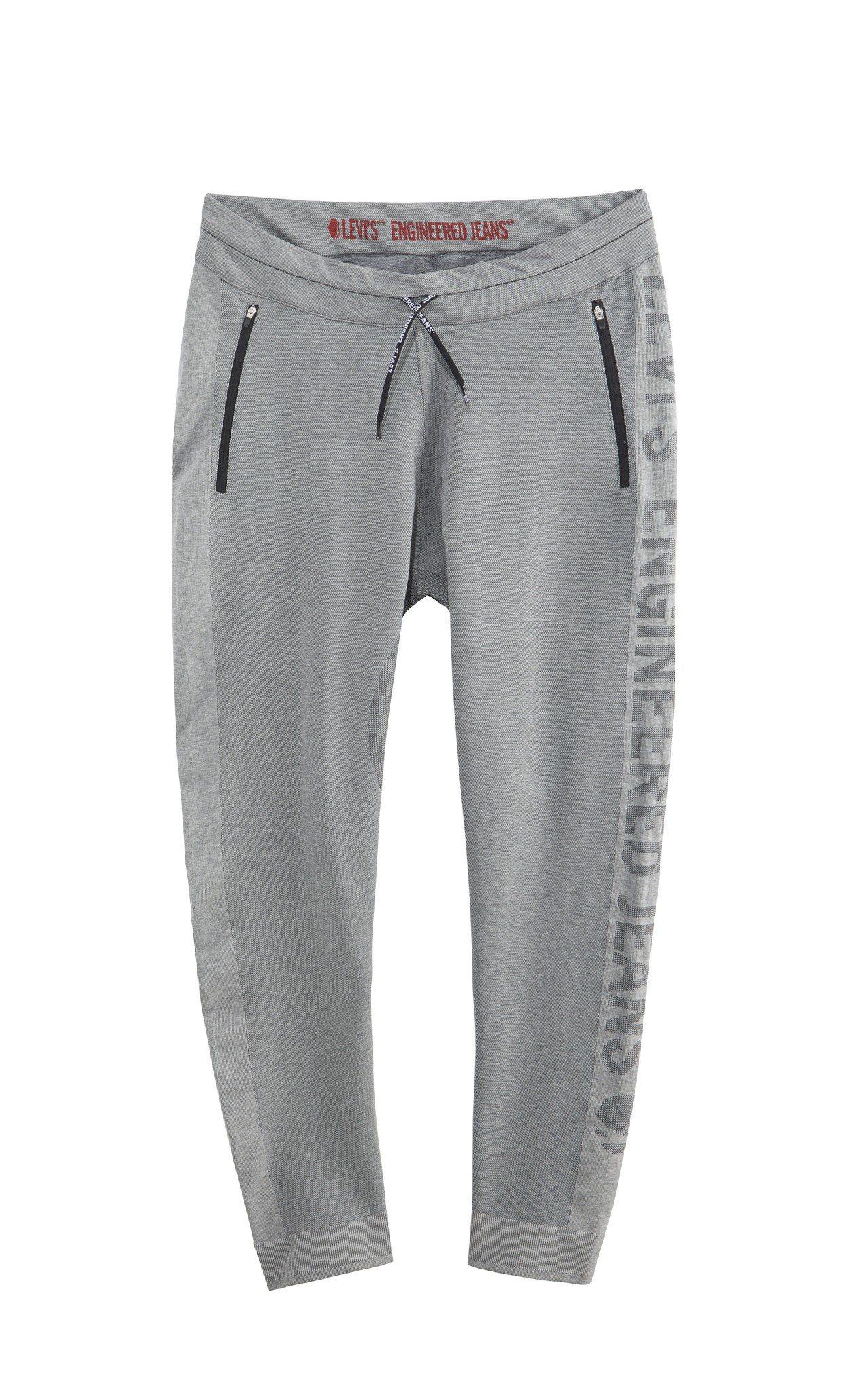LEJ針織灰色運動褲,3490元。圖/LEVIS提供