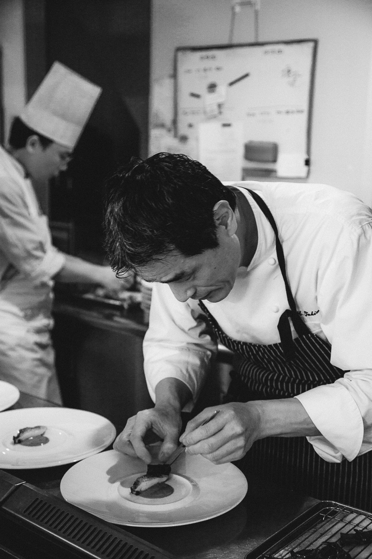 日本籍米其林一星法國廚師Chef Takimoto將在3月底來台客座。圖/長榮鳳...