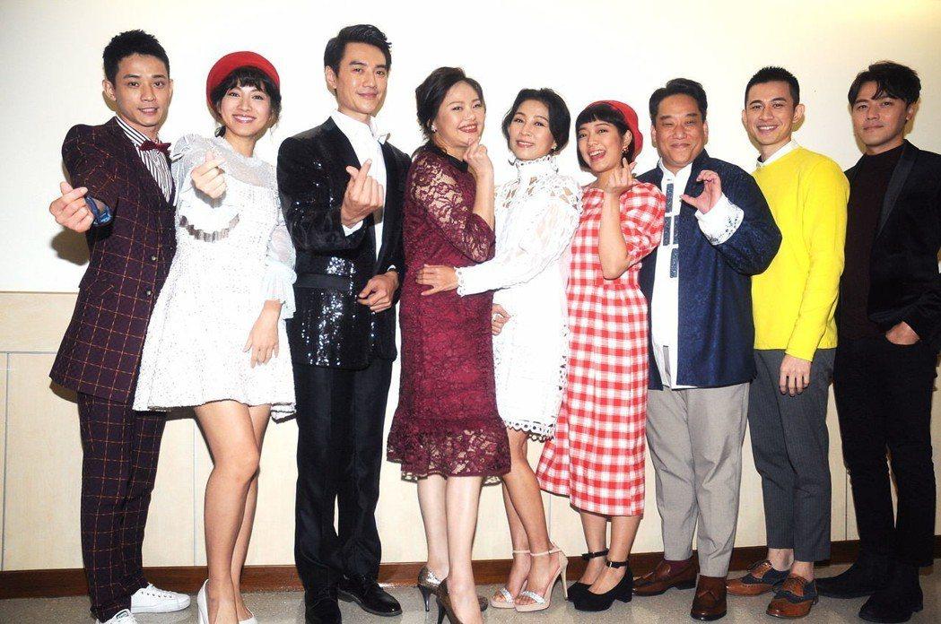 台視「生生世世」劇組登上「紅白」舞台。圖/台視提供
