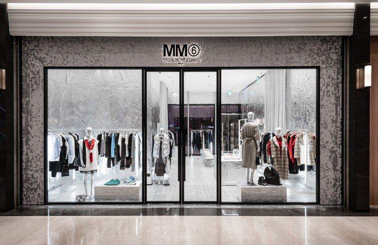 MM6在微風南山開幕,是目前台灣唯一專賣店。圖/微風精品提供