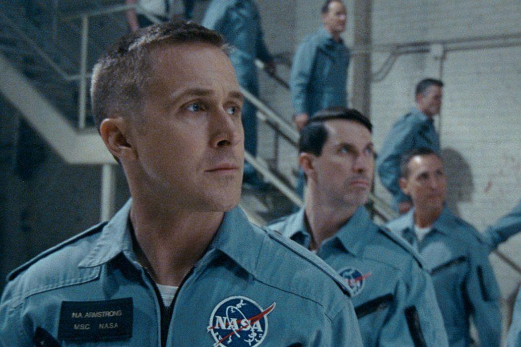 萊恩葛斯林在「登月先鋒」表現極佳,最後卻未能入圍奧斯卡影帝。圖/UIP提供