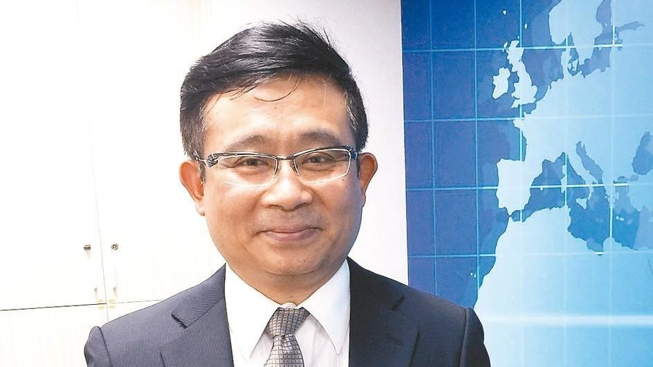 信驊董事長林鴻明。 信驊/提供