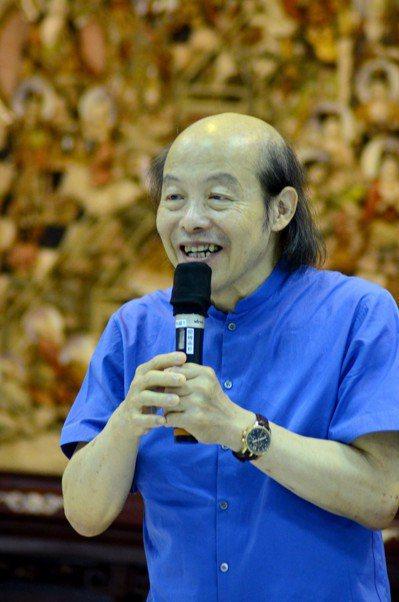 作家林清玄過世,享壽66歲。聯合報系資料照