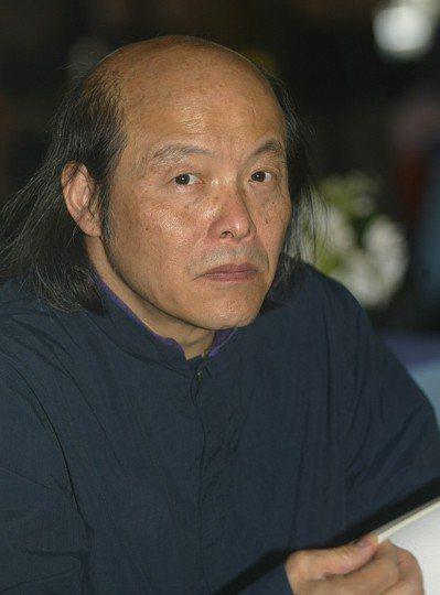作家林清玄今晨因心肌梗塞去世。 聯合報系資料照/記者蘇健忠攝影
