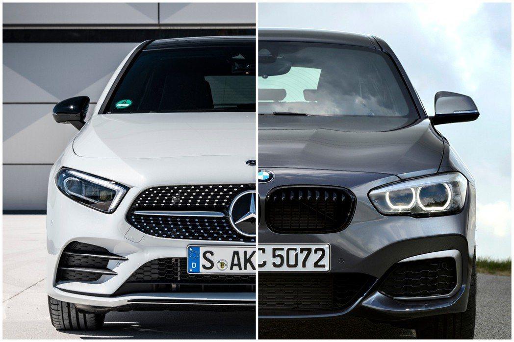 Mercedes-Benz與BMW傳將攜手開發新世代小車。 摘自Mercedes-Benz、BMW