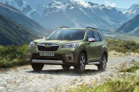 進口休旅優惠戰開打!Subaru Forester新年限時優惠95.8萬起