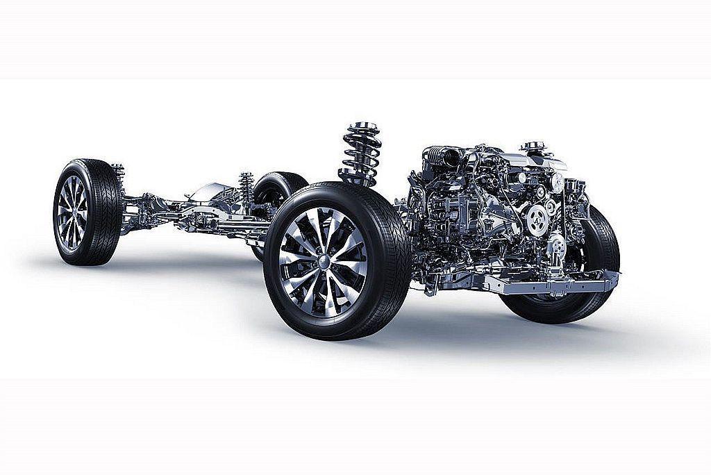 Subaru聞名車壇的三大核心科技「BOXER水平對臥引擎」、「SAWD對稱式全...