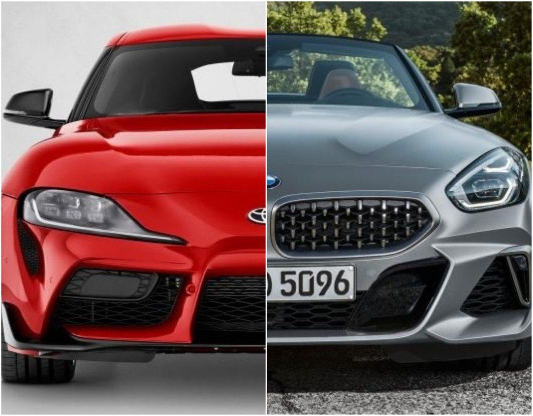 Toyota Supra與BMW Z4到底有哪些相似之處呢? 摘自Toyota、...