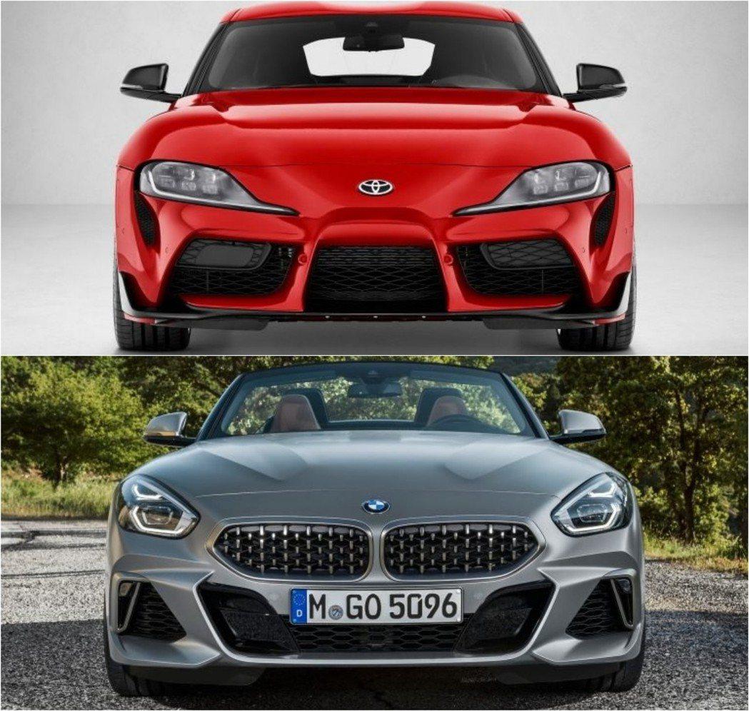 從大燈位置、保桿設計的部份風格就截然不同。 摘自Toyota、BMW