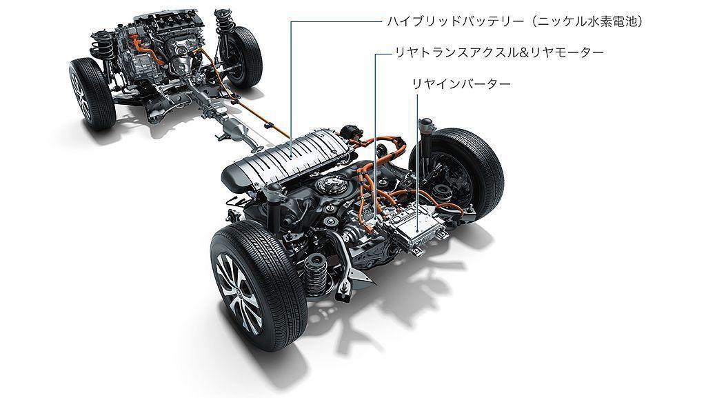 Toyota Prius AWD-i採用後獨立永磁同步馬達專屬設計,無需傳統中央...