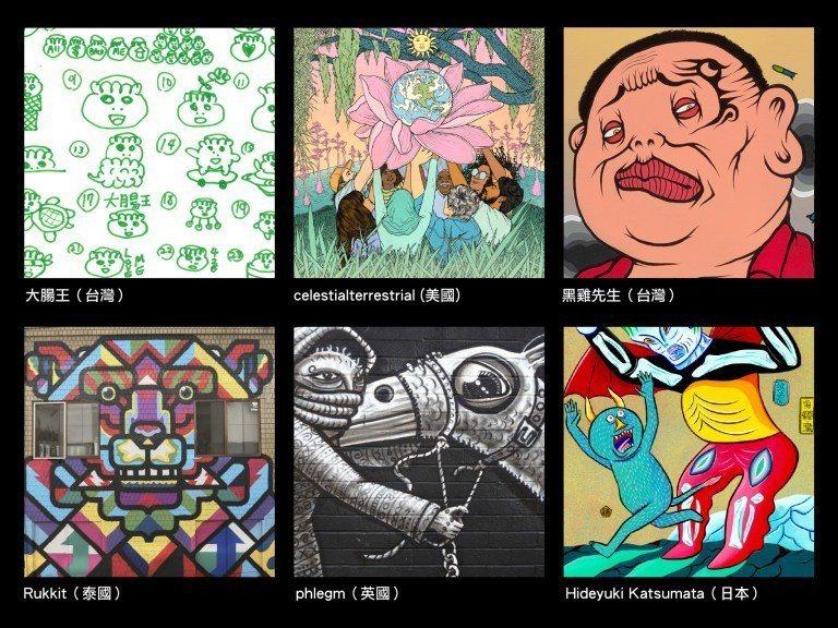 圖/2019台北燈節與眾多國內外藝術家合作