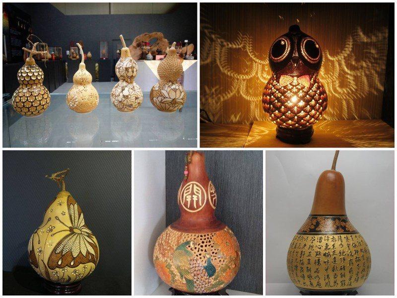 (圖/FB@葵花迎賓滿杉林) ▲葫蘆工藝為杉林的地方特色,賞花的朋友們別忘了順道...