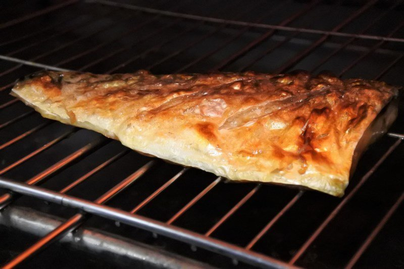 (圖/台灣旅行趣) ▲嚴選鯖魚,用鹽烤的方式呈現魚肉原味,而因為是現烤的,所以需...