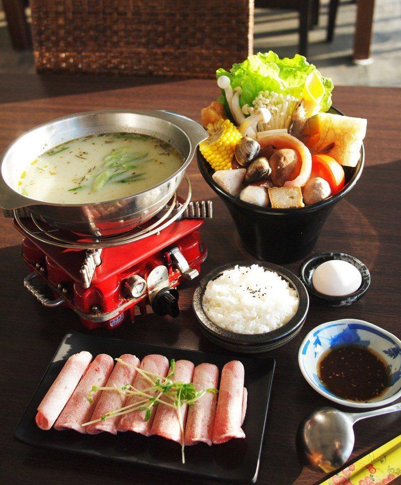 (圖/台灣旅行趣) ▲火鍋套餐內容