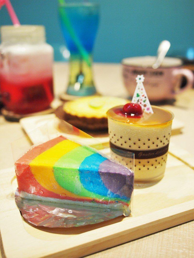 (圖/台灣旅行趣) ▲大餐過後要不要來一口彩虹?