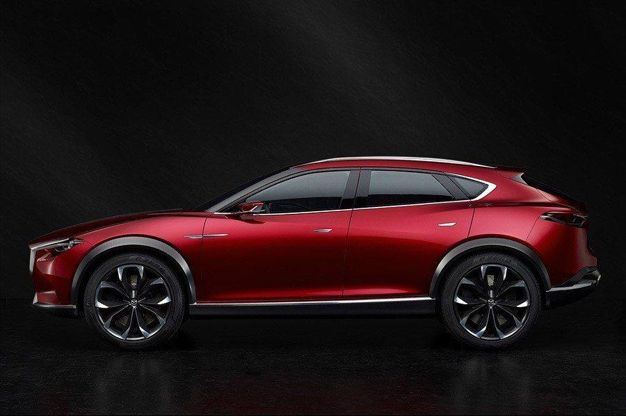 圖為2015 Mazda Koeru概念車。 Mazda提供