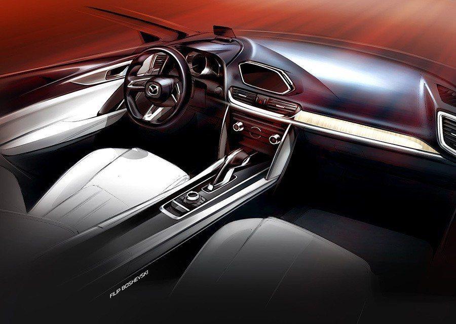 圖為2015 Mazda Koeru概念車內裝。 Mazda提供