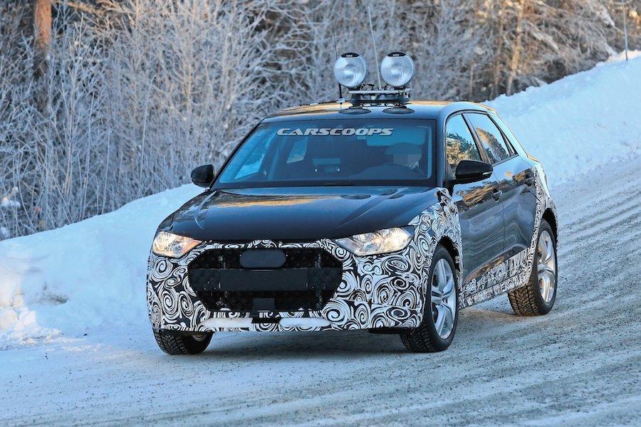全新Audi A1 Allroad雪地測試中 真的會有Quattro嗎?