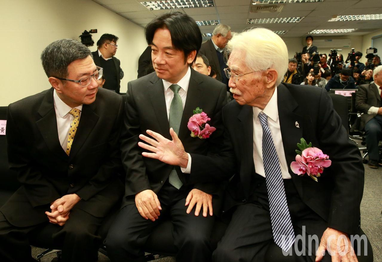 辜寬敏:蔡英文、賴清德 搭配選2020總統
