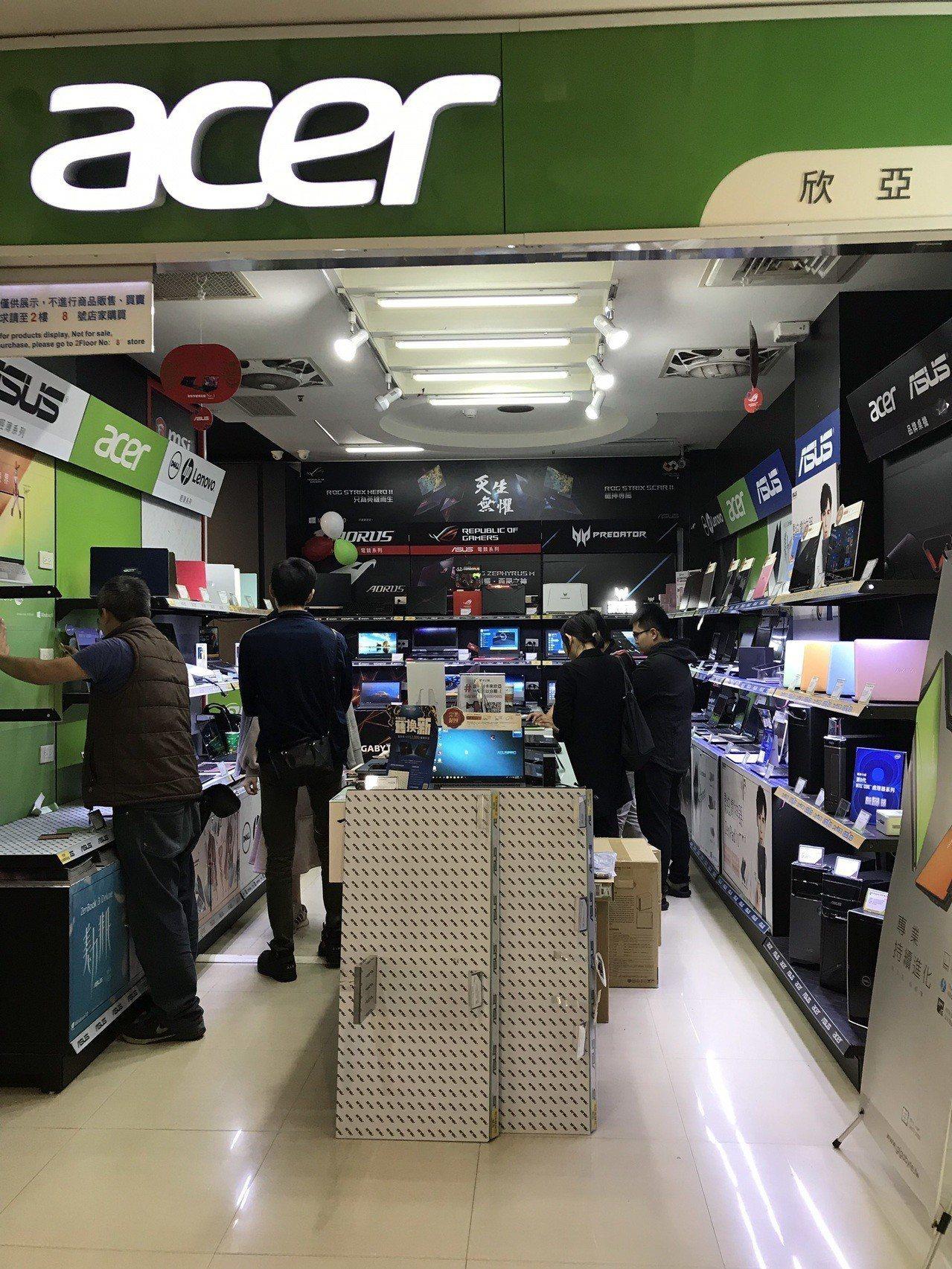 中租「零卡分期」有數千家線下合作實體店家,品項應有盡有。記者許玉娟/攝影