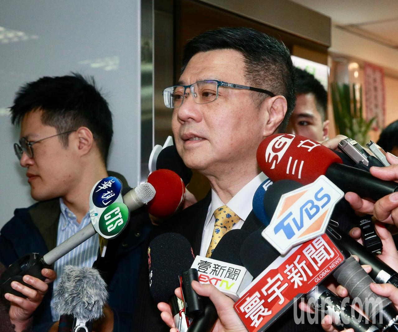 民進黨主席卓榮泰。聯合報系記者黃義書/攝影