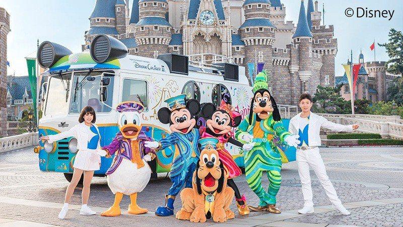 東京迪士尼大遊行下月台北見!網酸:怎不是高雄呀?