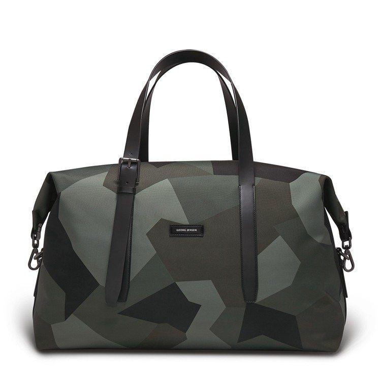 Georg Jensen MensMuutos 迷彩色旅行袋,約17,680元。...