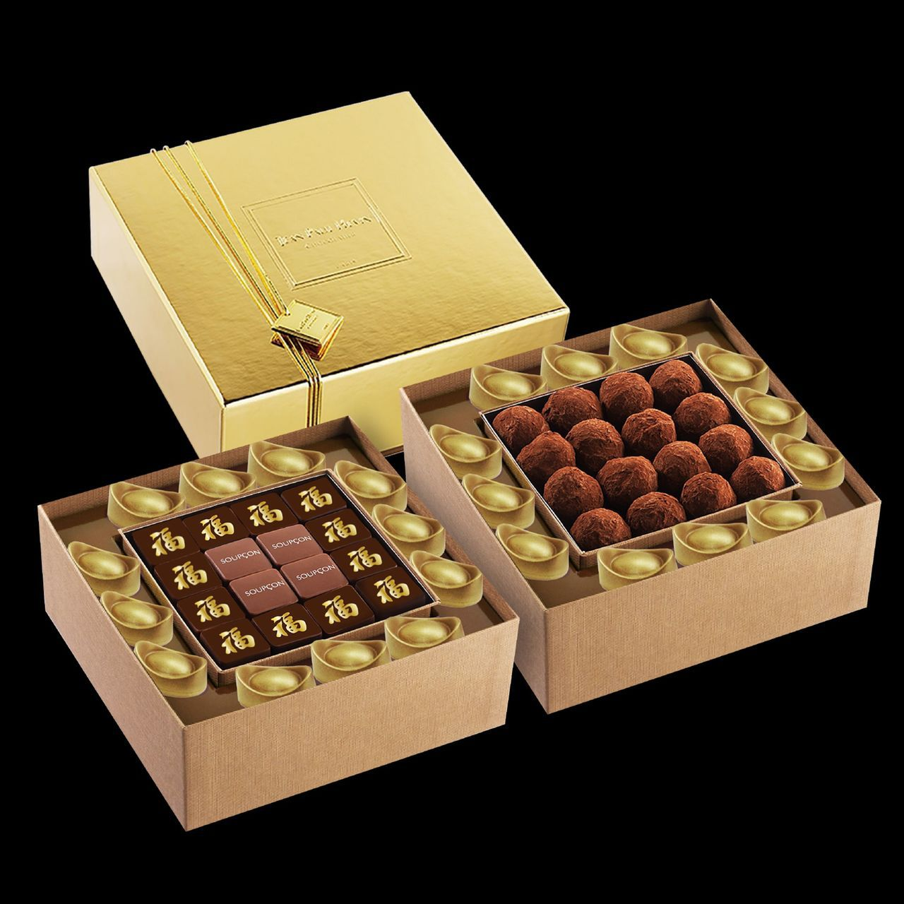 麗晶精品新春購物節結合店內多個品牌推出限定商品,頂級巧克力JEAN-PAUL H...