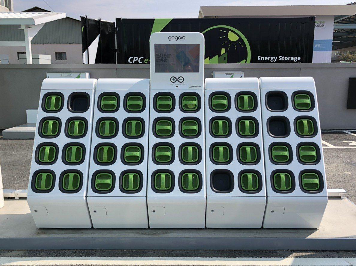 台灣中油公司不只賣油,也要開始賣電!全台第一座建置完成啟動的智慧綠能加油站-嘉義...