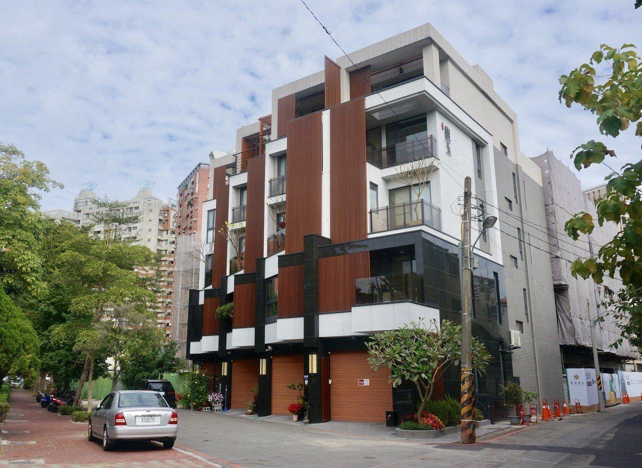 緊鄰「嘉億馥璟」的一期4戶別墅,以3個月的時間迅速完銷。記者宋健生/攝影