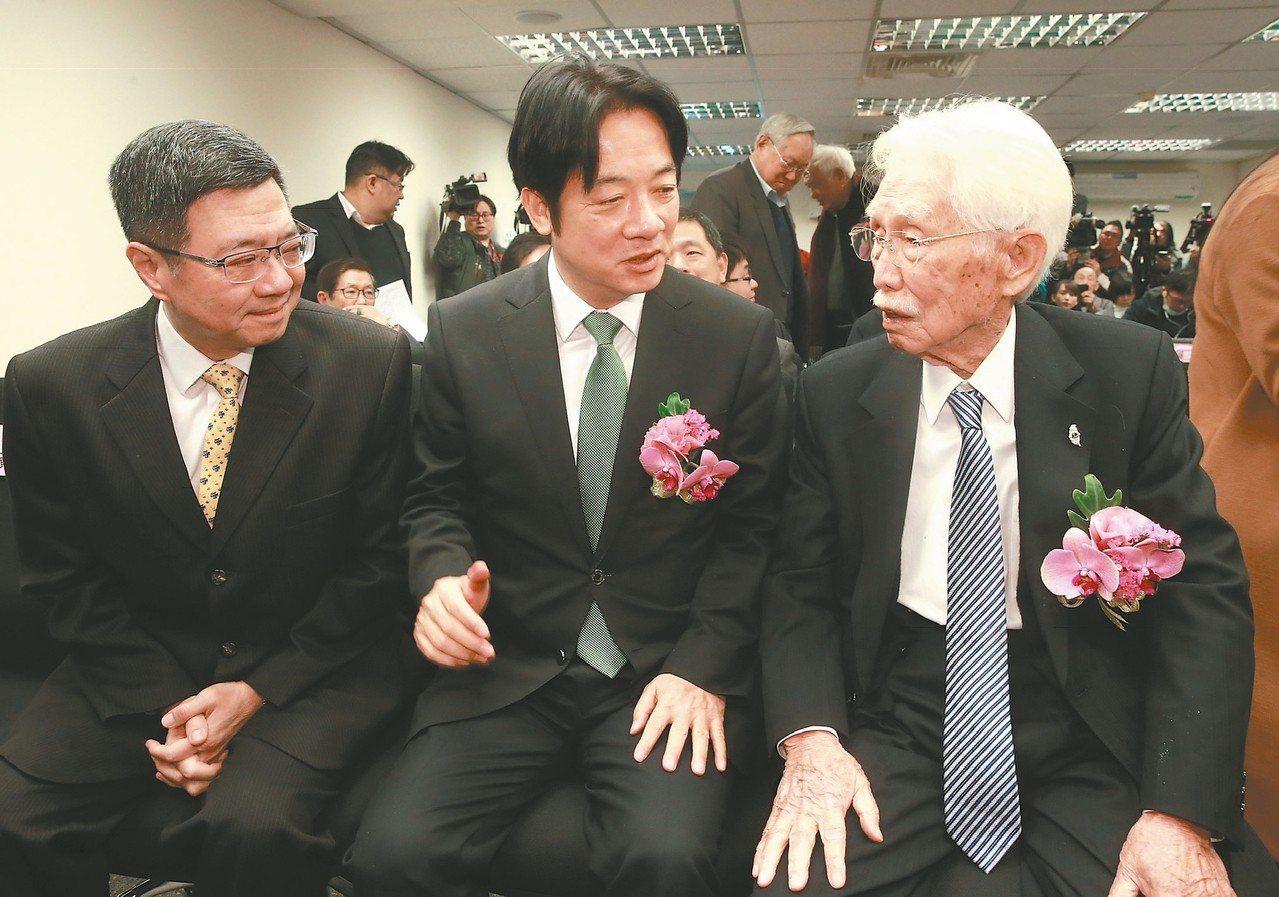 賴清德挺制憲:台灣需要一部新憲法