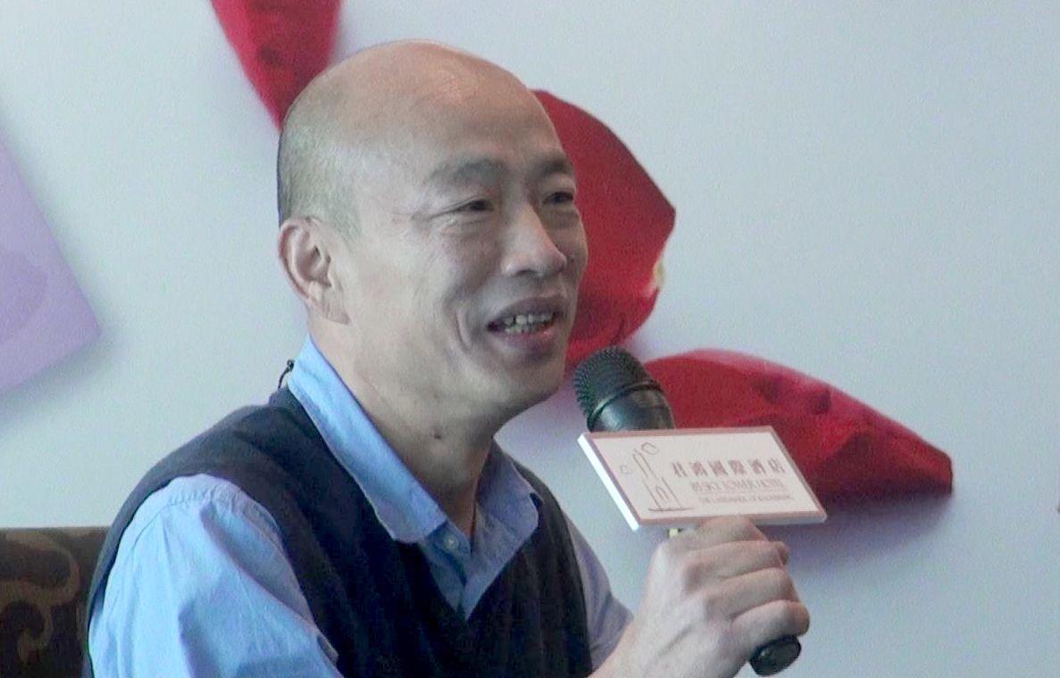 高市長韓國瑜今天期盼全案能找出其他路共創市府、企業與市民三贏。聯合報系資料照/記...