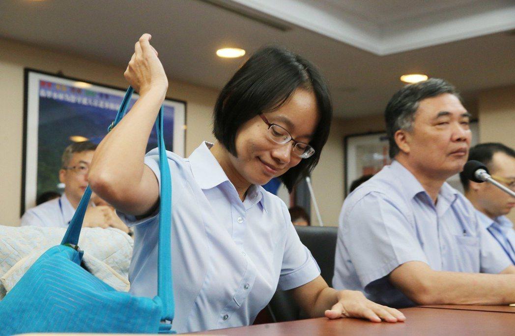 北農總經理吳音寧上任500多天去職。 圖/聯合報系資料照片