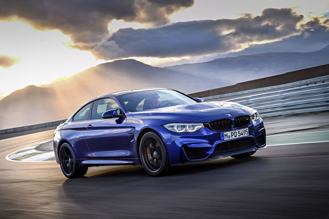 BMW M4 CS。 摘自BMW