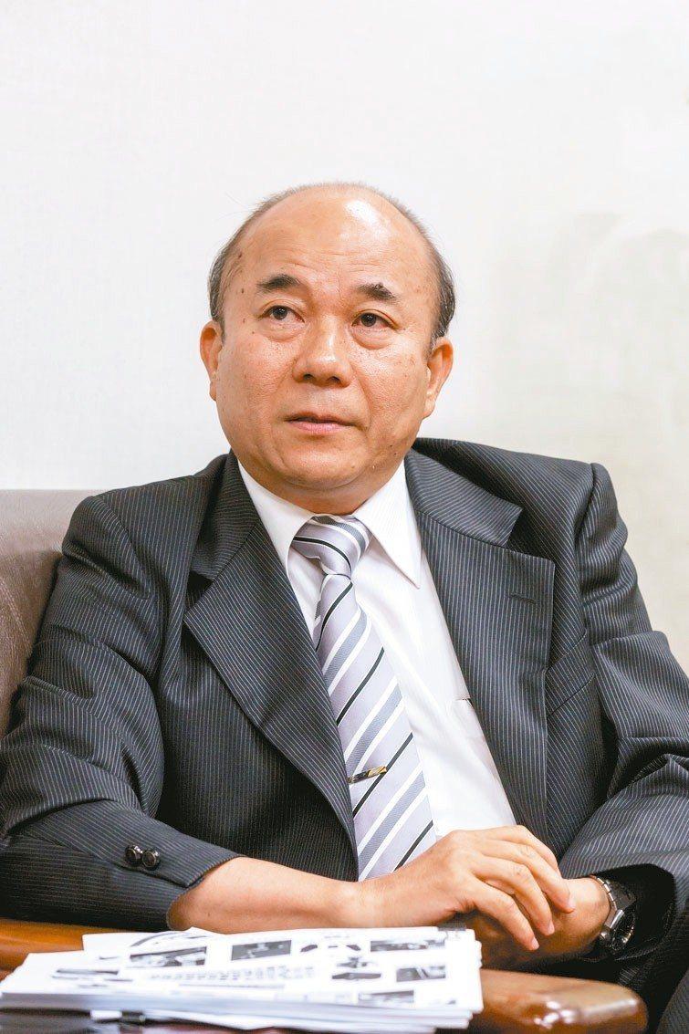 領軍赴印度拓市場的臺灣機械工業同業公會理事長柯拔希。 機械公會/提供
