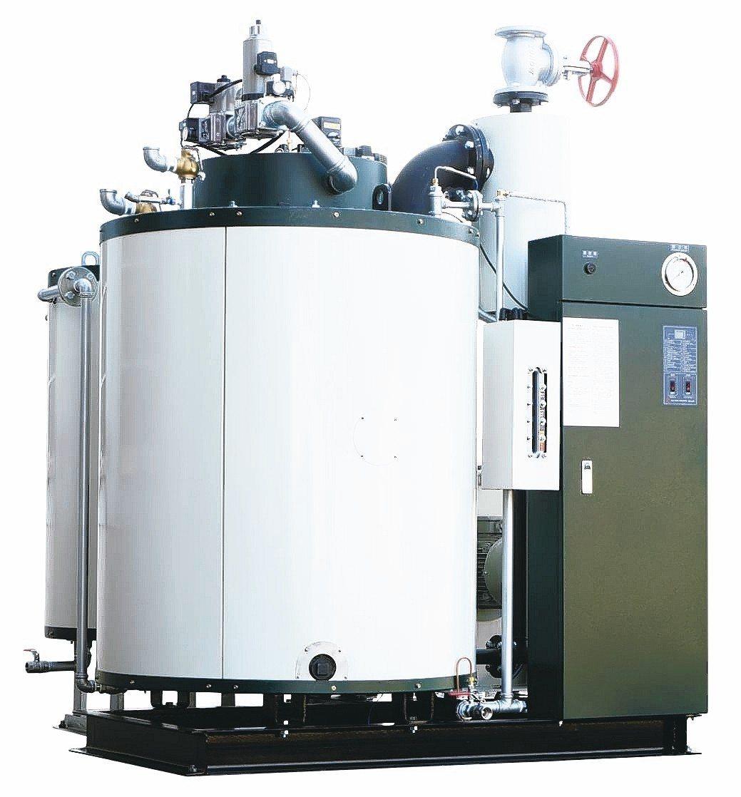 志豪公司專業製造各式高效率貫流式鍋爐。 吳青常/攝影