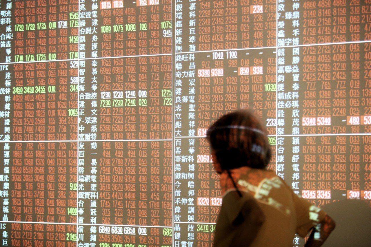 台股衝刺周線收紅。 聯合報系資料照/記者林伯東攝影